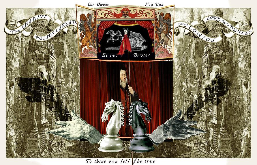 chariot burghley polonius julius caesar