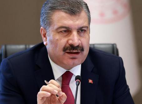 Sağlık Bakanı Koca 11 Mart'tan sonra bir ilk diyerek duyurdu!