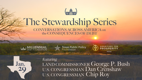 "MDF Launches ""Stewardship Series"" in Texas with Bush, Crenshaw, Roy"