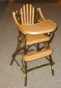 Amish-made tables and chairs