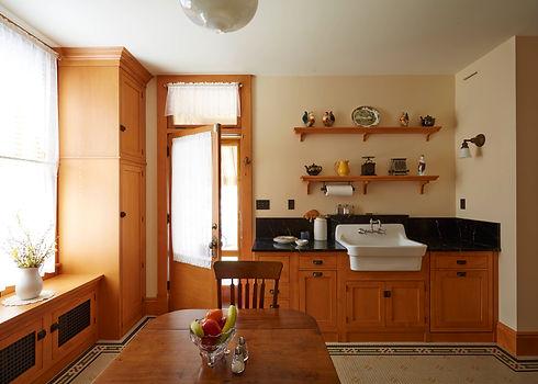 Remodeled antique kitchen