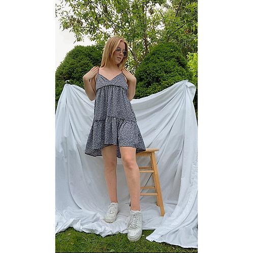 Flirty Flutter Dress