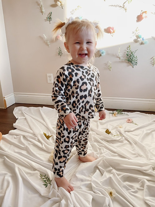 Infant Leopard Lounge Set