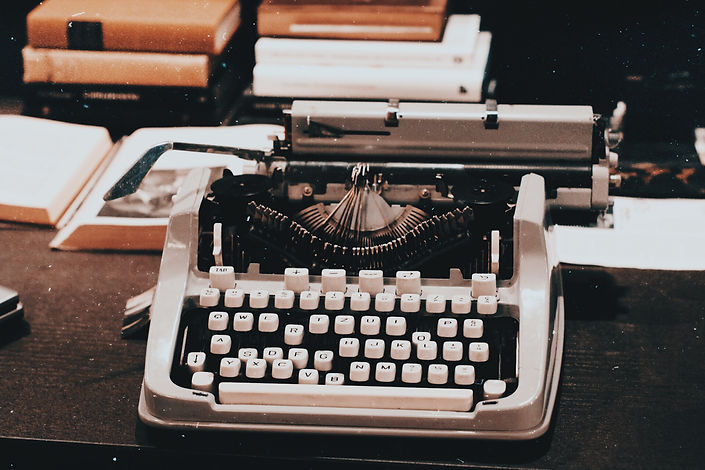Canva - Photograph of a Vintage Typewrit