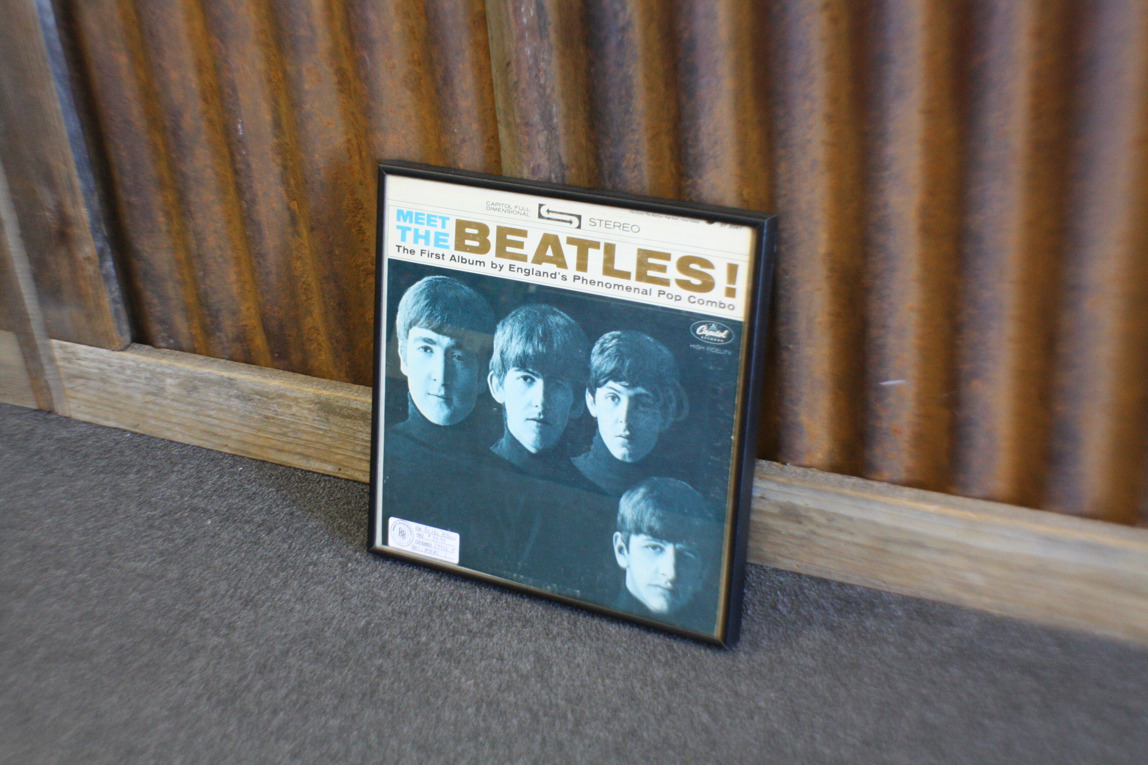 beatles album, vintage records