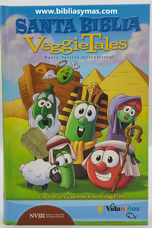 Biblia Infantil Vegetales NVI version internacional  de estudio Pasta Dura