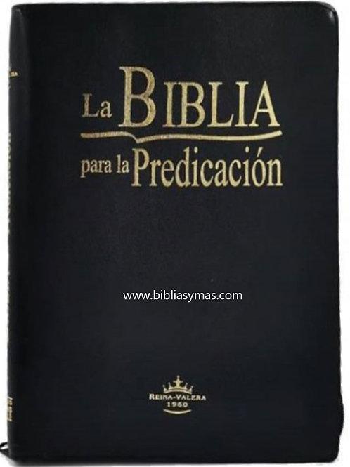 B. Para la predicacion Imit. Piel Negro Index Zipper