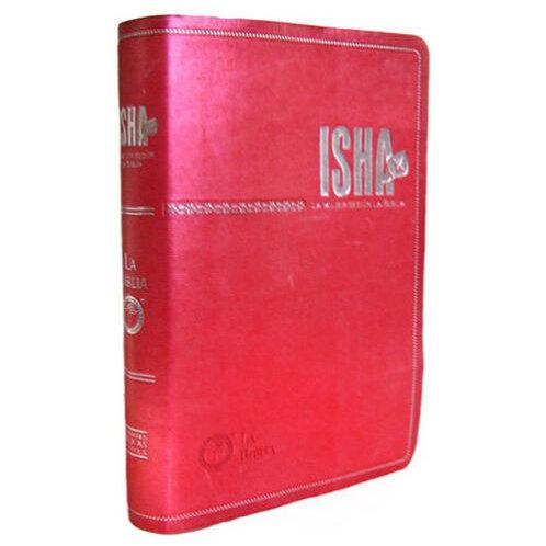 Biblia de estudio para mujer  Isha TLA Lenguaje Actual Fucsia