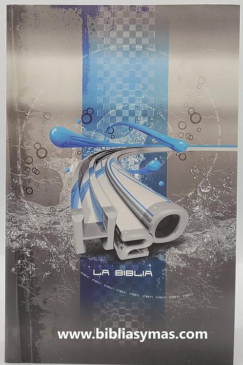 BIBLIA TLA LENGUAJE ACTUAL DE ESTUDIO PARA JOVENES H2O RUSTICA