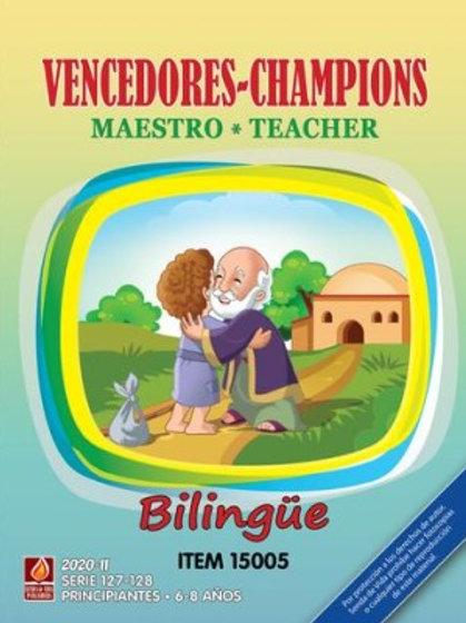 Vencedores Maestro Bilingue II 2020