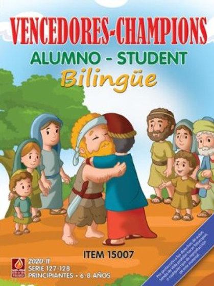 Vencedores Alumno Bilingue II 2020