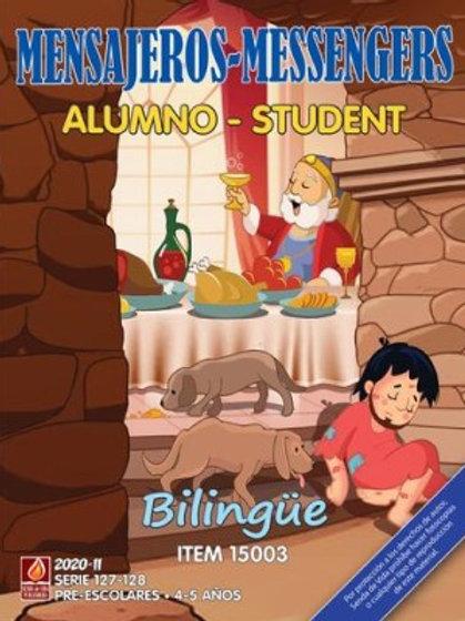 Mensajeros Alumno Bilingue II 2020