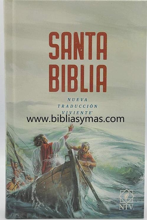 BIBLIA NTV, NUEVA TRADUCCION VIVIENTE, TAPA DURA, PARA NIÑOS CON ILUSTRACIONES