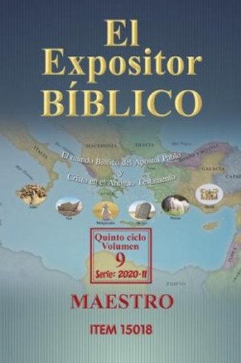 Expositor Maestro Tela II 2020