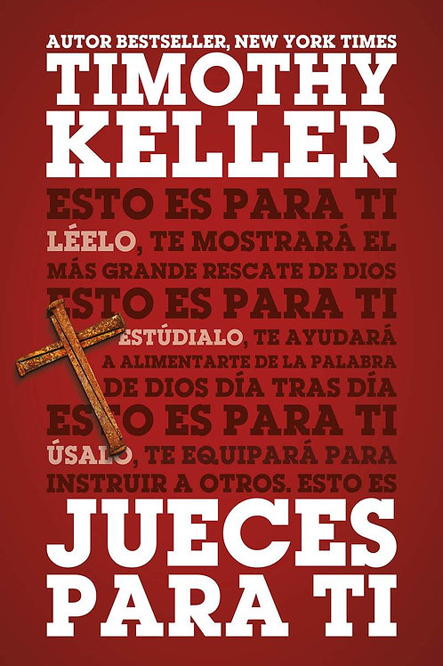 Jueces Para ti Tapa Rustica - Tim Keller