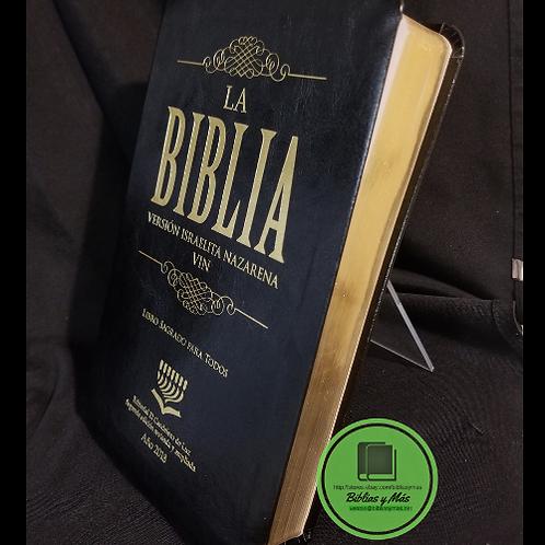Biblia Version Israelita Nazarena Negro