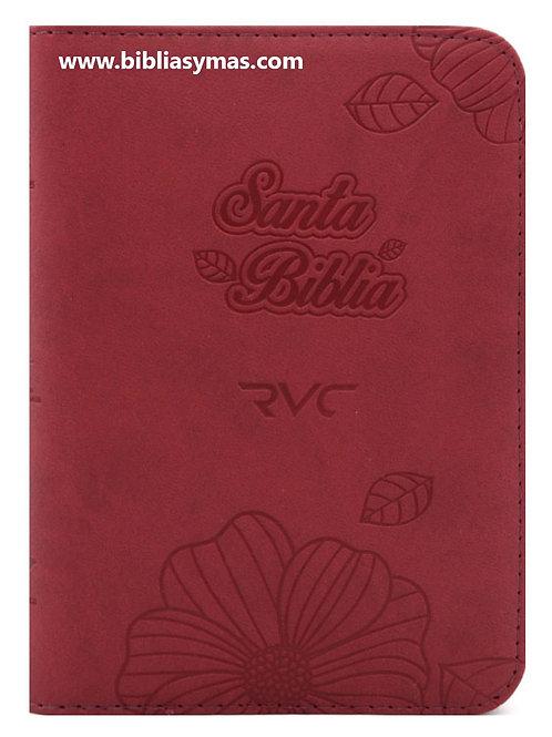 Biblia Pequeña Reina Valera Contemporanea RVC Rojo Zipper e Index