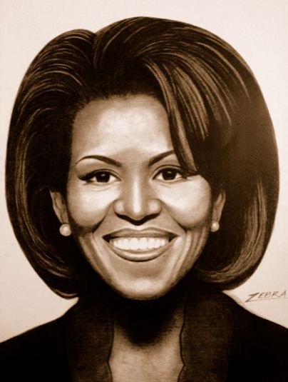 First Lady Michelle Obama 5x7