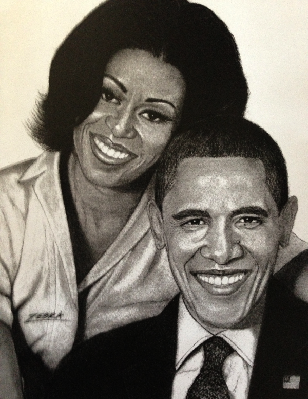 President Barack Obama & 1st Lady
