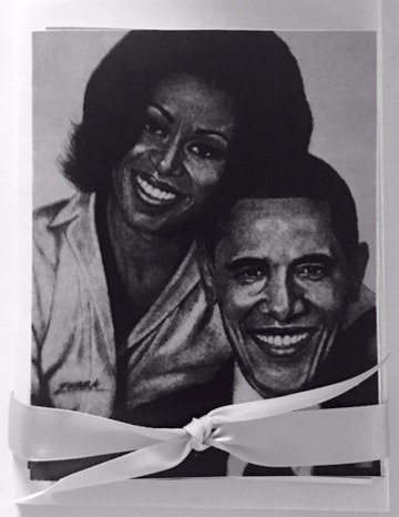The Obamas Note Cards