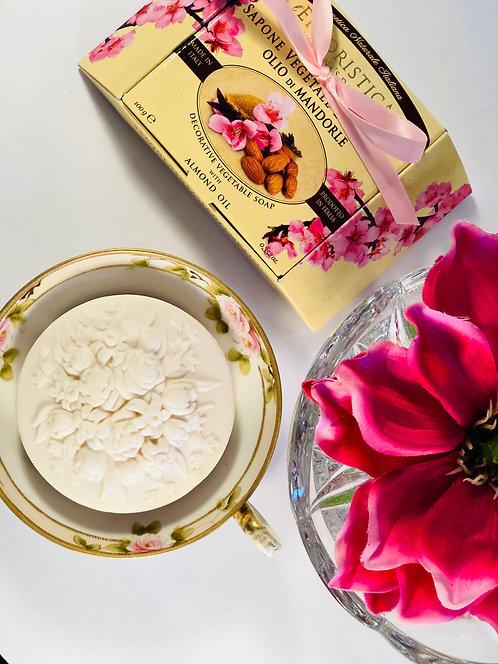 Almond Oil Italian Soap