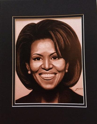 First Lady Obama 5x7