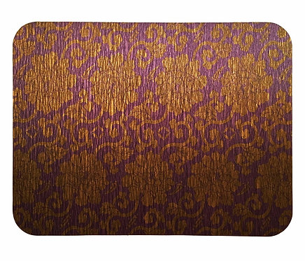 Gold Purple Placemats