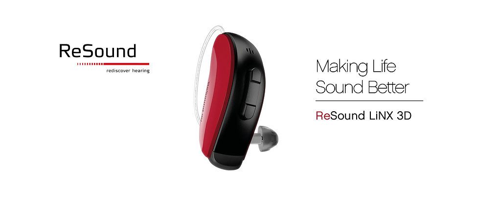 ReSound Product Banner