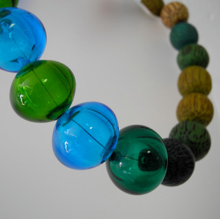 Hollow Beads with Wood - 2011