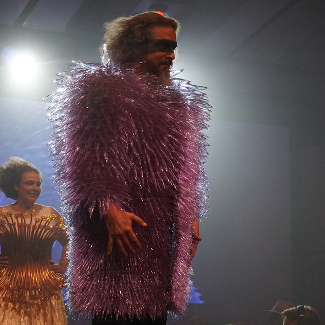 Glass Fashion Show - 2016 (Image Courtesy of The Corning Museum of Glass)