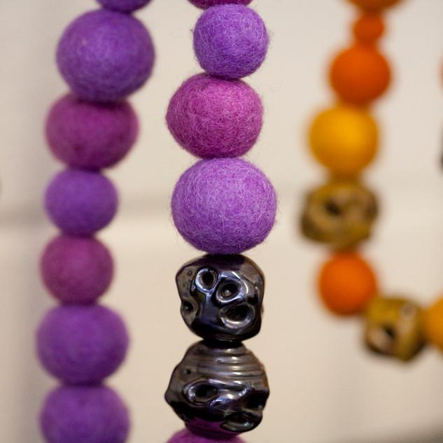 Wild Cucumber Necklaces - 2009