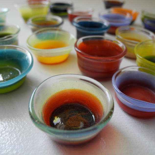 Miniature Wasabi Bowls
