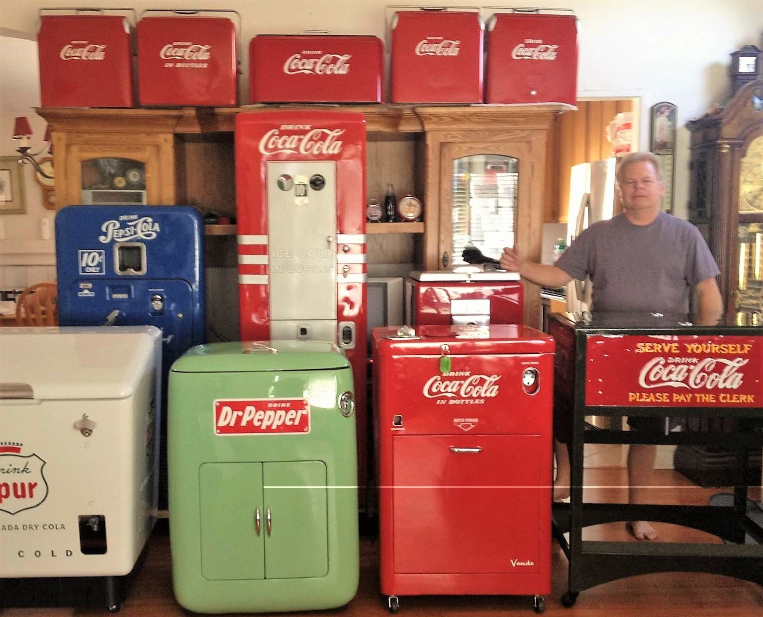 OLD Coke Machines | Nashville | Classic Machines of Tennessee