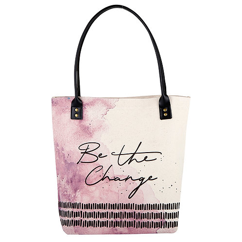 Be The Change - Tote