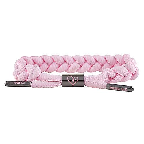 Shoelace Bracelet - Trust Pink