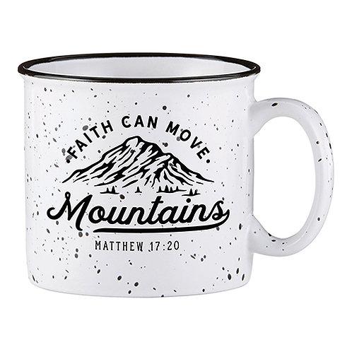 Campfire Mug - Faith Can Move Mountains