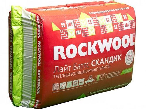 Утеплитель Роквул 800х600х50/100 (5,76/2,88 м2)