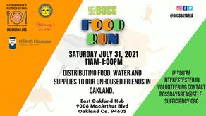 BOSS Bay Area July Food Run