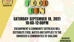 BOSS Bay Area September Food Run