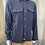 Thumbnail: Haupt Navy Flannel with Side Pockets 10708