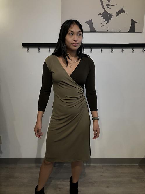 Eva Varro Wrap Dress D6562