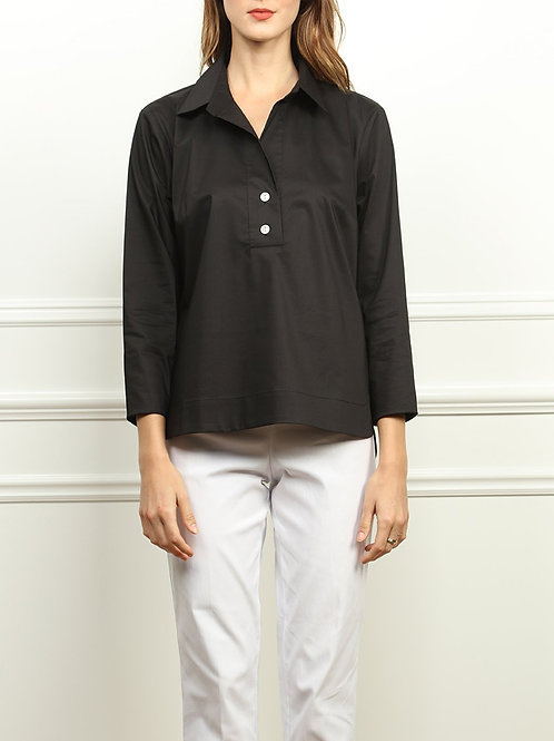 Hinson Wu Aileen Button Back Collared Top