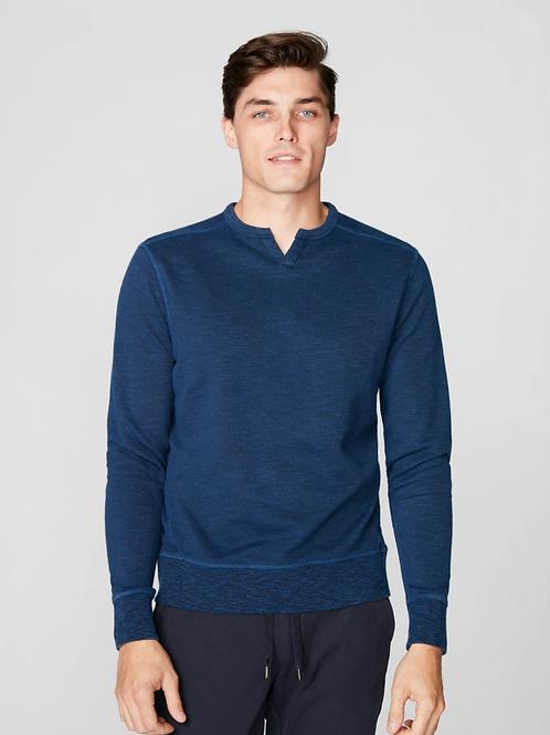 Goodman Victory V-Notch Sweatshirt in Blue G468-3