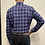 Thumbnail: Haupt Navy Check Flannel 7018/2410
