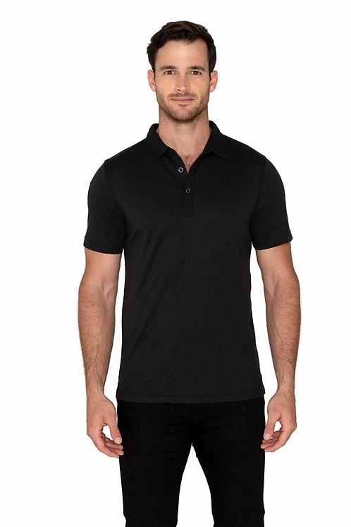 Raffi Sherwood Polo in Black - RW22206
