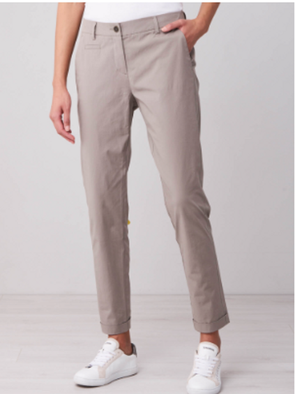 REPEAT Chino Trousers in Khaki 800078