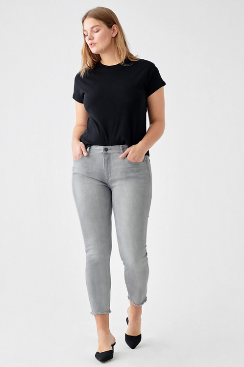 DL1961 Florence Cropped Mid-Rise Skinny 3229