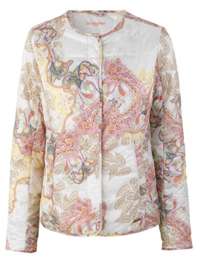 Ilse Jacobsen White Light Padded Jacket
