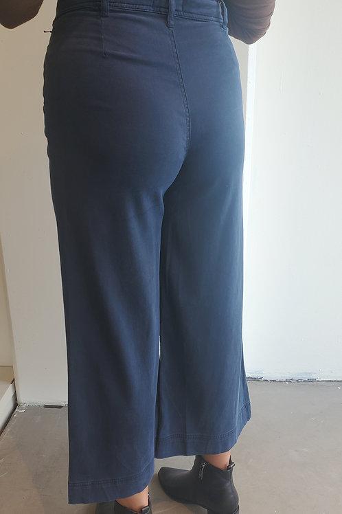 Bella Dahl Wide Leg Crop Trouser in Endless Sea - B31135-626-303
