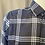 Thumbnail: Haupt Navy and White Check Flannel 30708